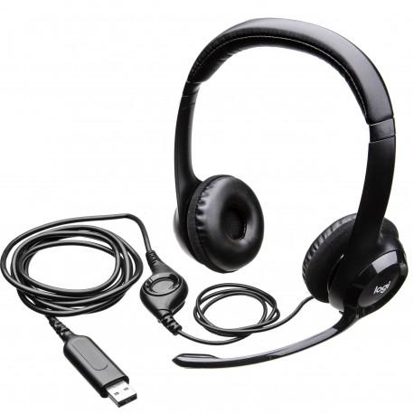 Słuchawki z mikrofonem Logitech H390