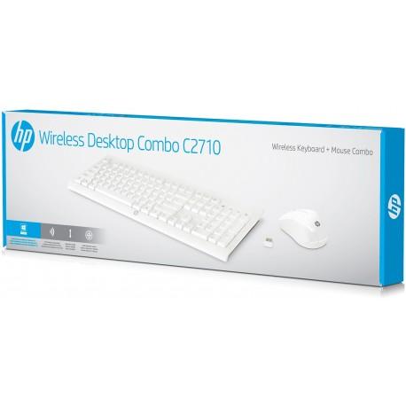Zestaw klawiatura i mysz HP Wireless Desktop C2710