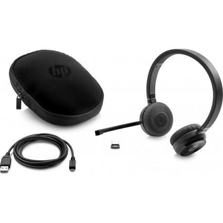 Słuchawki HP Wireless Duo Headset W3K09AA NOWE z mikrofonem