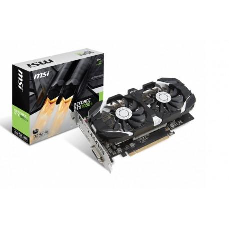 MSI NVIDIA GeForce GTX 1050 Ti 4096MB GDDR5 NOWA