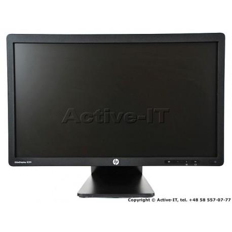 """HP 20"""" E201 Black"""