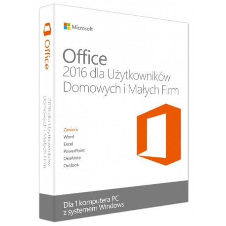 Microsoft Office 2016 Home & Business PL