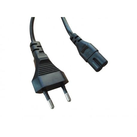 Kabel zasilający koniczynka 2 PIN PAKIET 10szt.