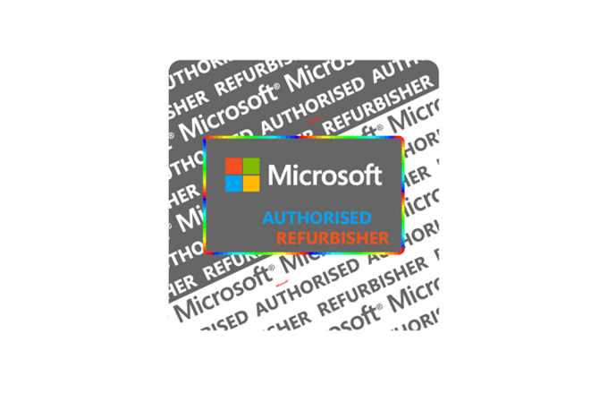 Genuine Microsoft Refurbisher Label